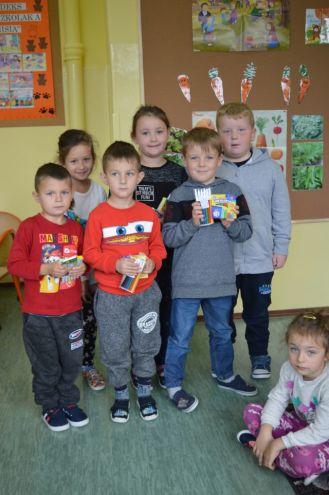 CHROŃMY PSZCZOŁY - uczestnicy i laureaci, przedszkole