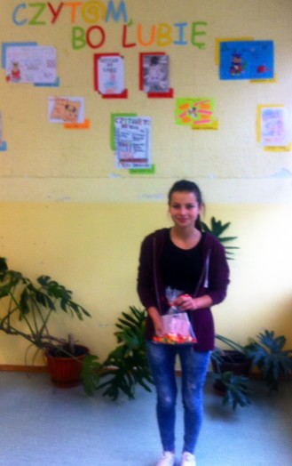 CZYT@M, BO LUBIĘ - Oliwia Magdziarz, I miejsce